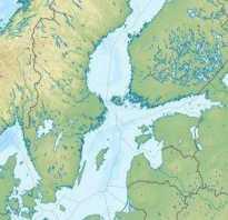 Балтийское море чей бассейн