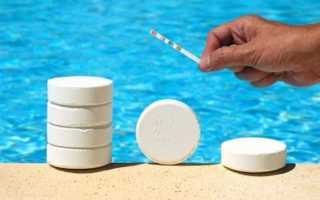 Куда класть таблетки для бассейна