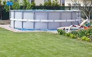 Какой бассейн интекс лучше синий или серый